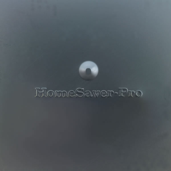 """8"""" x 8"""" HomeSaver Pro Black Cap, 3/4"""", 18-ga, 8"""" High Mesh, 24-ga Lid"""