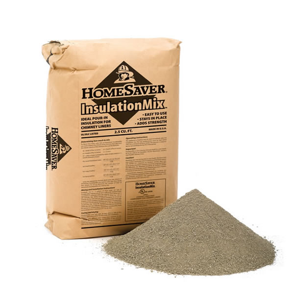 Pallet HomeSaver Insulation Mix, 50 Bags Per Pallet