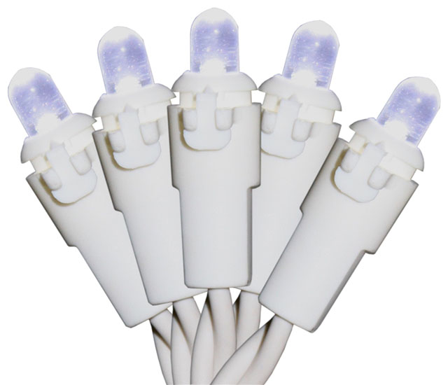 LIGHTS ICICLE LED WHITE 70L