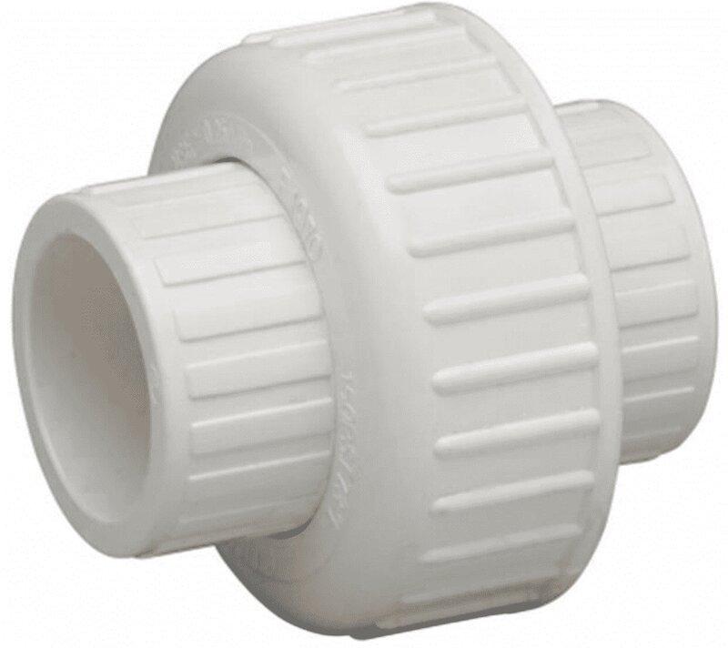 1-1/4 SS SCH40 PVC UNION
