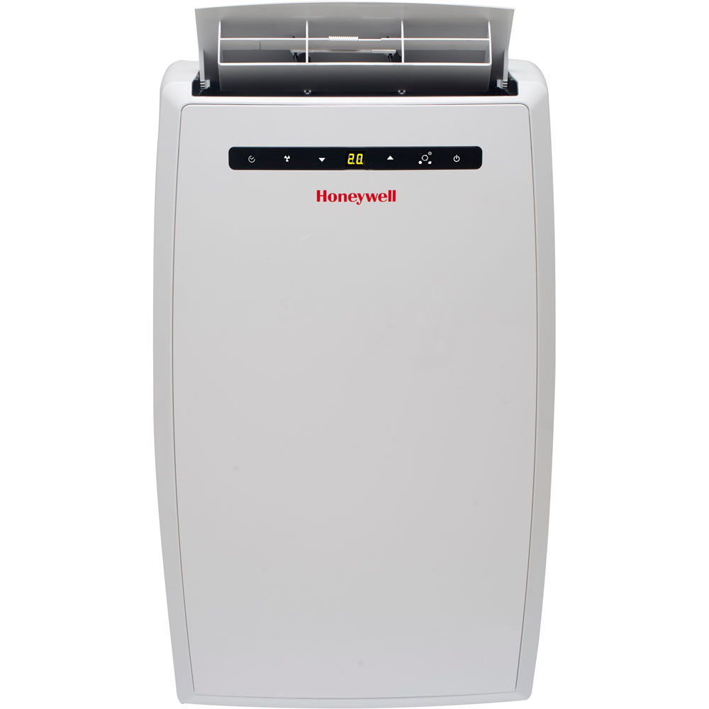 Honeywell Portable Air Conditioner, 10,000 BTU Cooling, LED Display, Single Hose, White