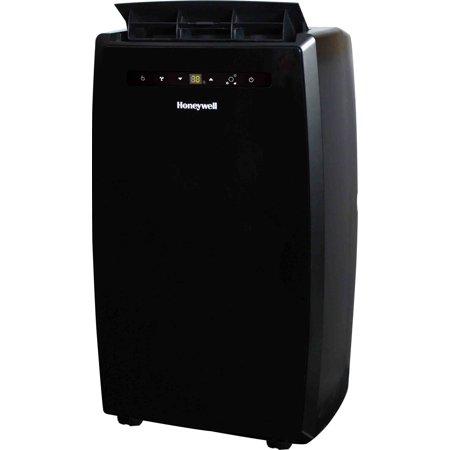 14,000 BTU Portable Air Conditioner, Dual Hose, with Remote, Black