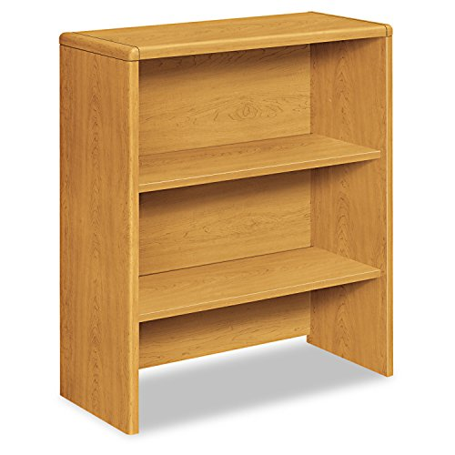 10700 Series Bookcase Hutch, 32 5/8w x 14 5/8d x 37 1/8h, Harvest