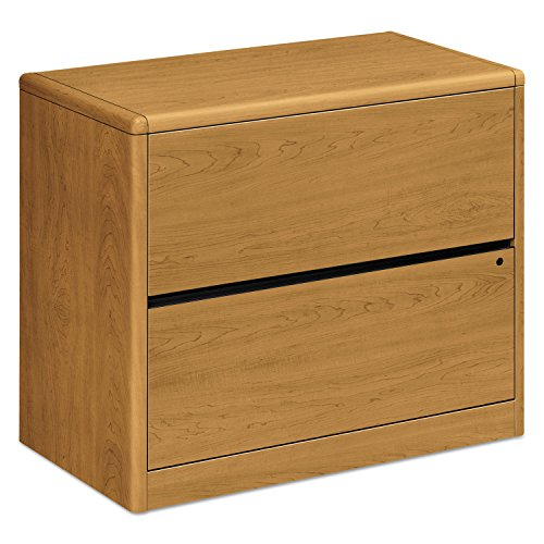 10700 Series Two Drawer Lateral File, 36w x 20d x 29 1/2h, Harvest