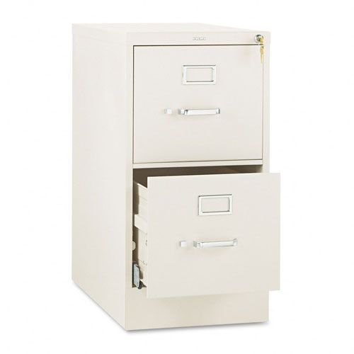 510 Series Two-Drawer Full-Suspension File, Letter, 29h x25d, Putty