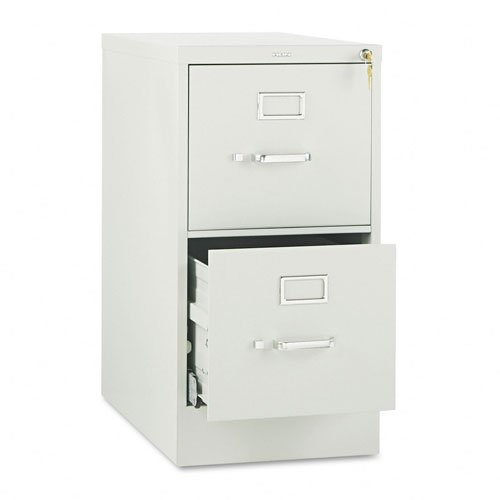 510 Series Two-Drawer Full-Suspension File, Letter, 29h x25d, Light Gray