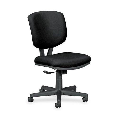Volt Series Task Chair, Black Fabric