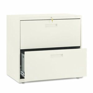 500 Series Two-Drawer Lateral File, 30w x 19-1/4d x 28-3/8h, Putty