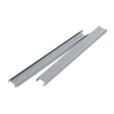 "Double Cross Rails for 42"" Wide Lateral Files, Gray"