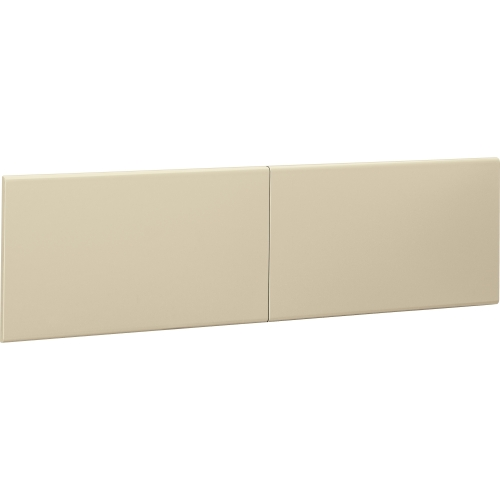 "38000 Series Hutch Flipper Doors For 60""w Open Shelf, 30w x 15h, Putty"
