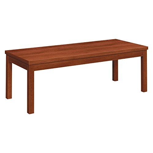 Laminate Occasional Table, Rectangular, 48w x 20d x 16h, Cognac