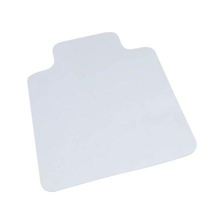 """Hard Surface Chair Mat, Lip, 36"""" x 48"""", Clear"""
