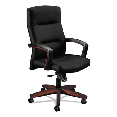 5000 Series Park Avenue Collection Executive High-Back Knee Tilt Chair, Black