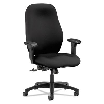 7800 Series High-Back Task Chair, Black
