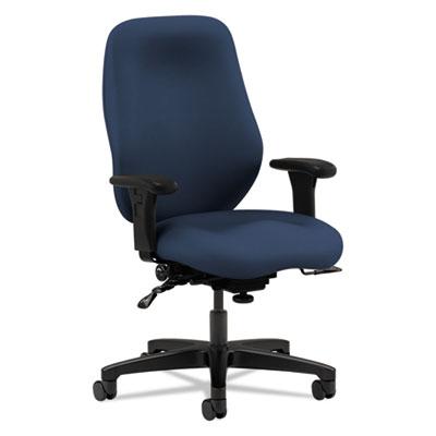 7800 Series High-Back, High Performance Task Chair, Navy