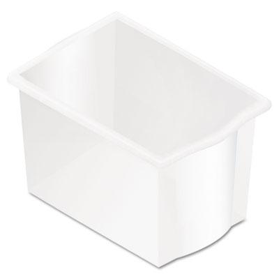 SmartLink Storage Kits, Tray Kit, 12w x 24d x 12h, Clear, 2 Trays/Kit