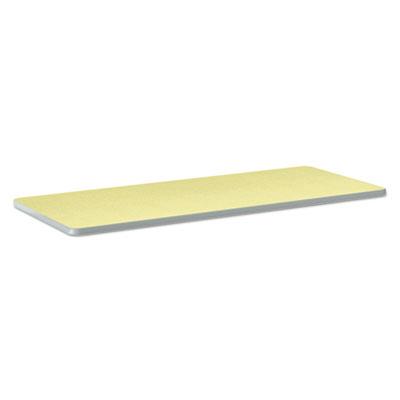 Build Rectangle Shape Table Top, 60w x 24d, Kiwi