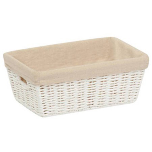 Honey-Can-Do STO-03558 Storage Baskets, Parchment Cord, White