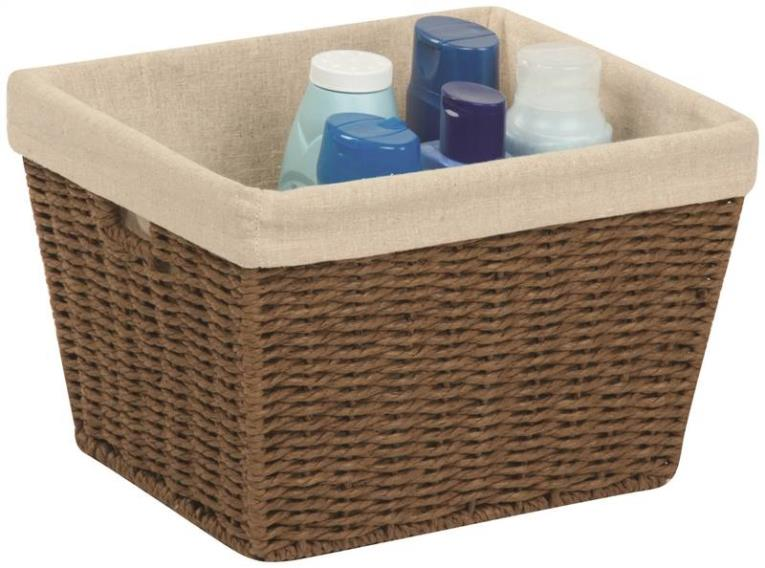 Honey-Can-Do STO-03565 Storage Baskets, Parchment Cord, Brown