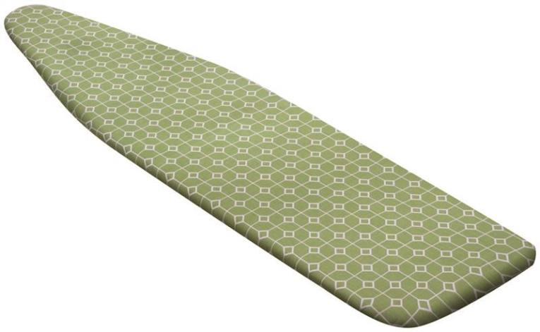 COVER IRON BOARD GRN GEOMETRIC