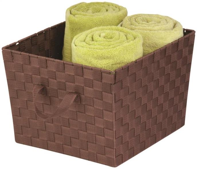 Honey-Can-Do STO-02116 Task-It Storage Baskets, Brown