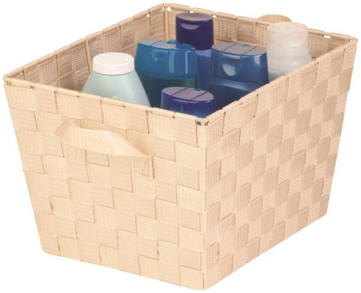 Honey-Can-Do STO-02982 Task-It Storage Baskets, Creme