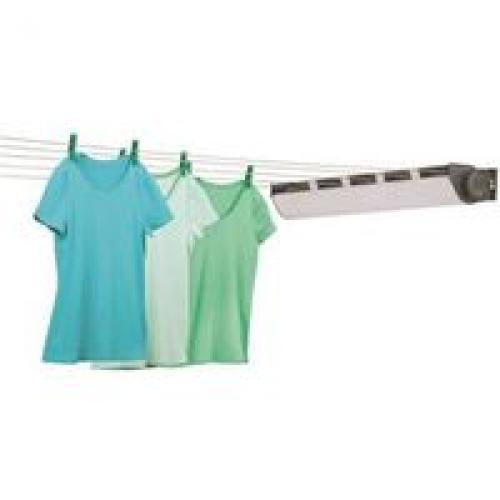 Honey-Can-Do DRY-03113 Clothesline Dryers, Interior/Exterior, 34 Ft Lgth