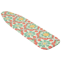 Honey-Can-Do IBC-03035 Premium Ironing Board Cover, For Use With 54 in Standard Boards, 4 mm Thick Foam Pad, Geometric