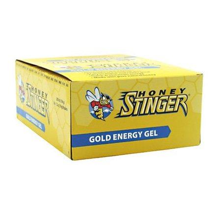 Honey Stinger Energy Gel, 24 Pack, Gold