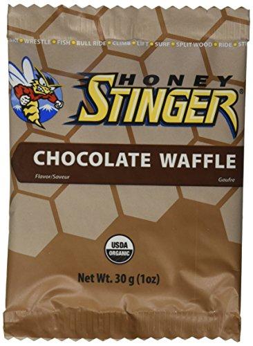 Honey Stinger Organic Waffles Chocolate 16 P