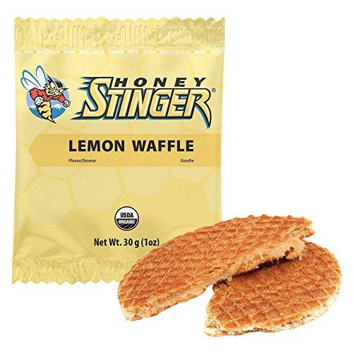 Honey Stinger Organic Waffles, 16 Pack, Lemo