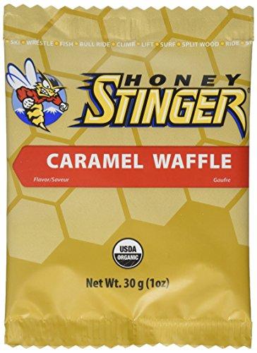 Honey Stinger Organic Waffles, 16 Pack, Cara
