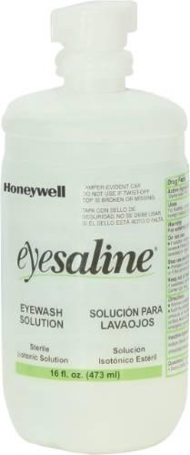 Saline Personal Eyewash Bottles, 16oz