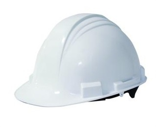 A59R01 RATCHET WHT HARD HAT