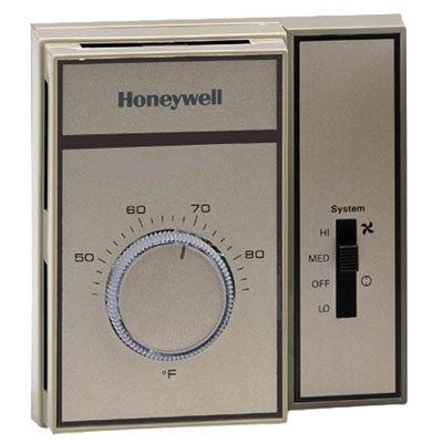 HONEYWELL LINE VOLTAGE THERMOSTAT WITH SNAP ACTION
