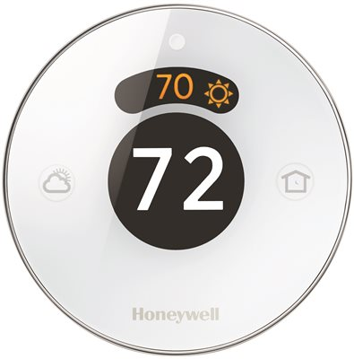 Honeywell's Lyric Programmable Round Thermostat, White