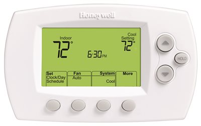HONEYWELL FOCUSPRO� 6000 DIGITAL WI-FI THERMOSTAT, 7-DAY PROGRAMMABLE, 3 HEAT/ 2 COOL