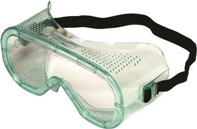 A600 IMPACT GOGGLE, CLEAR LENS