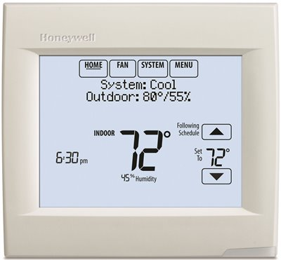 HONEYWELL� WI-FI VISIONPRO� 8000 THERMOSTAT, WHITE