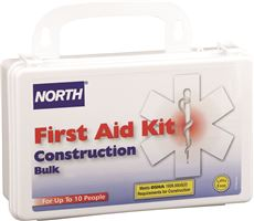 NORTH� CONSTRUCTION BULK FIRST AID KIT, 10 PERSON
