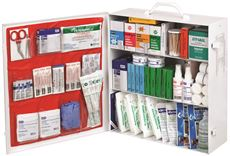 NORTH� INDUSTRIAL FIRST AID STEEL STATION, 3 SHELF, CLASS B