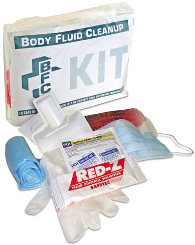 NORTH BODY FLUID CLEAN UP KIT BAG