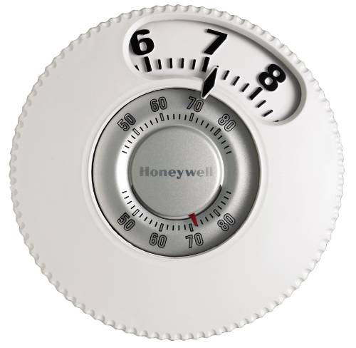 Honeywell Easy-To-See Thermostat, Heat/Cool, Premier White