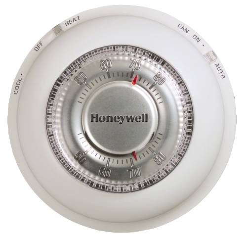 HONEYWELL NON-PROGRAMMABLE DIGITAL THERMOSTAT, HEAT ONLY, WHITE