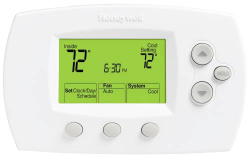 FocusPRO® TH6110D1005 5-1-1/5-2 Day Programmable Thermostat