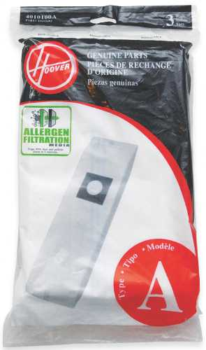 "ALLERGEN ""A"" BAG PACKED 3 PACK"