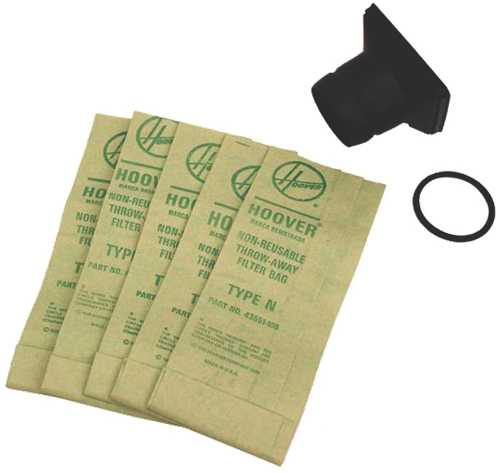 DISPOSABLE BAG ADAPTER KIT