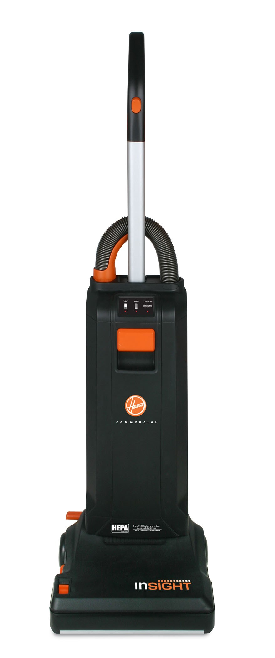 INSIGHT BAGGED UPRIGHT VACUUM - EASIER MAINTENANCE MEANS INCREASED PRODUCTIVITY