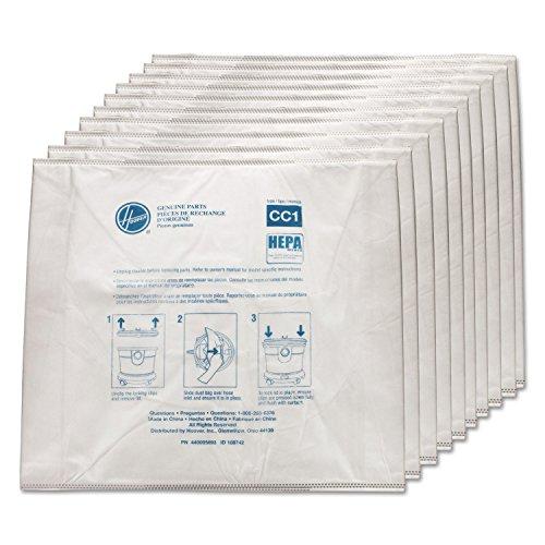 HOOVER� STANDARD BAGS FOR HUSHTONE CANISTER, 10 PER PACK