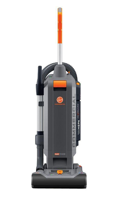 HOOVER� HUSHTONE 13 IN. BAGGED UPRIGHT VACUUM